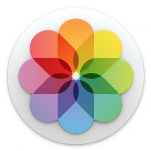 Photos icon Mac