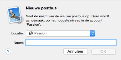 Nieuwe Postbus Mail