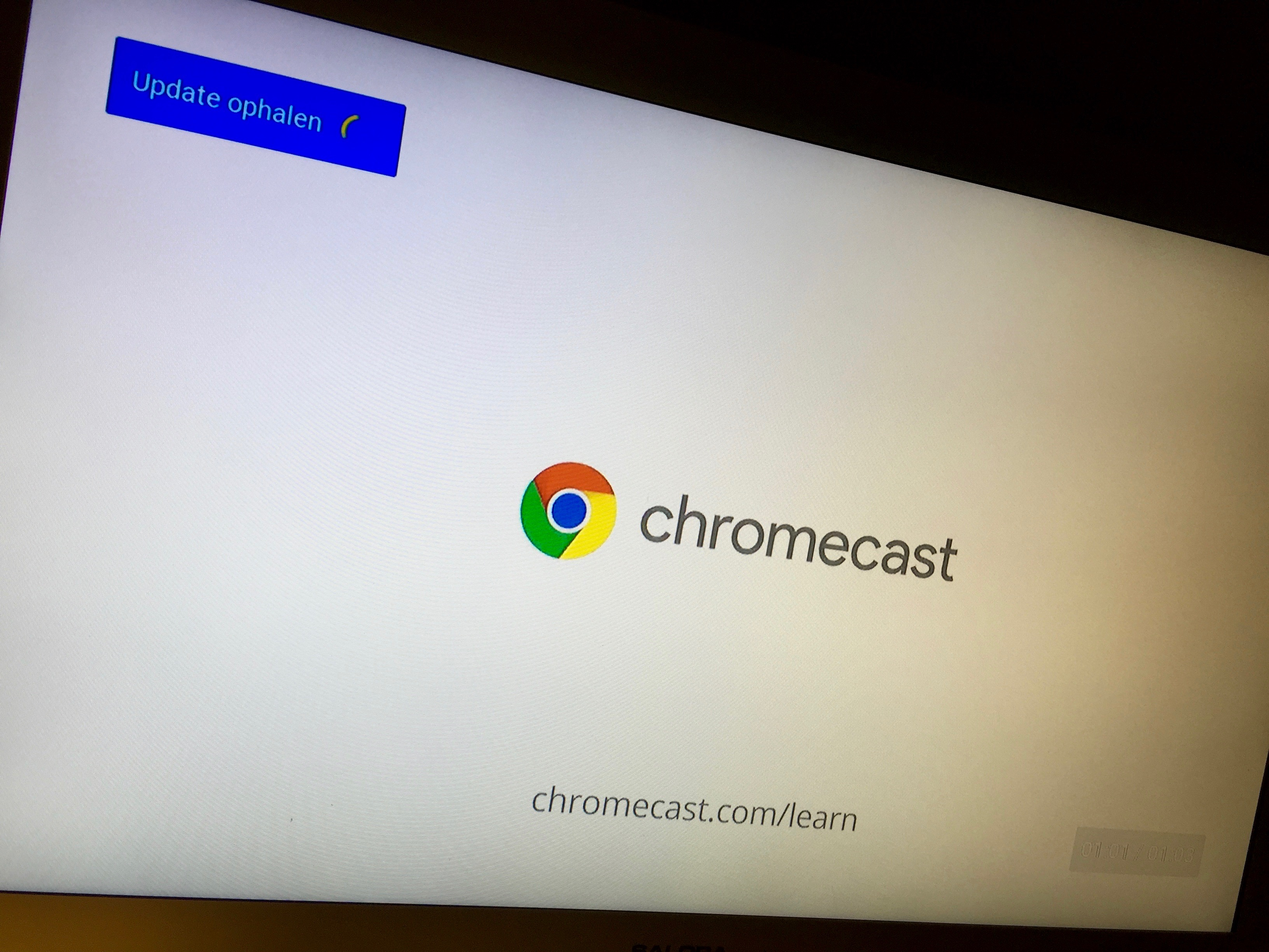Chromecast update
