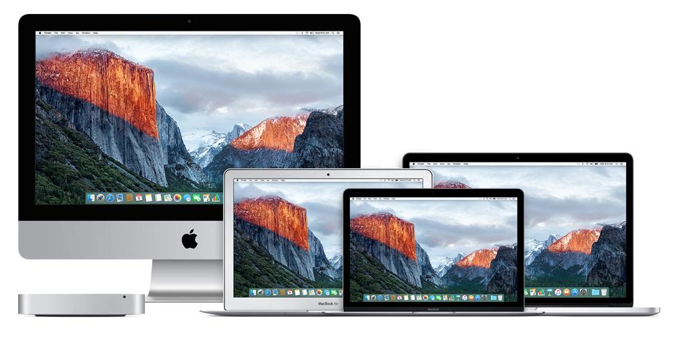 Mac Line-up 2016