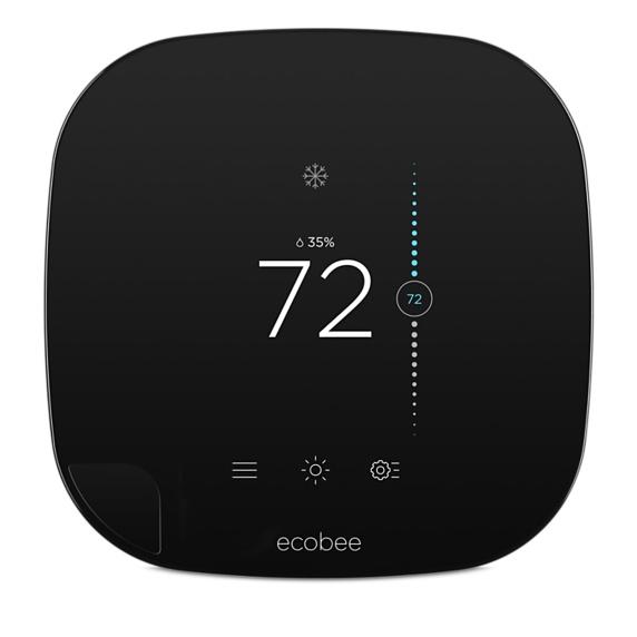 Slimme thermostaat van Ecobee